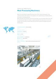 Meat Processing Machinery - International Stainless Steel Forum