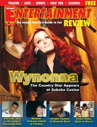 REVIEW - Inland Entertainment Review Magazine