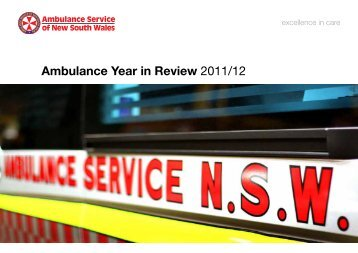 Ambulance Year in Review 2011/12 - Ambulance Service of NSW