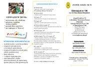 GIM - biuletyn 2013_14 - Witamy na stronie Zespołu Szkół nr 70 w ...