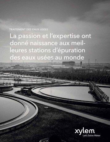 La passion et l'expertise ont donné naissance aux ... - Water Solutions