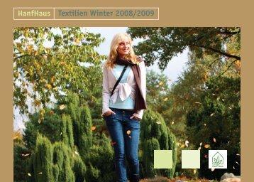 HanfHaus Textilien Winter 2008/2009