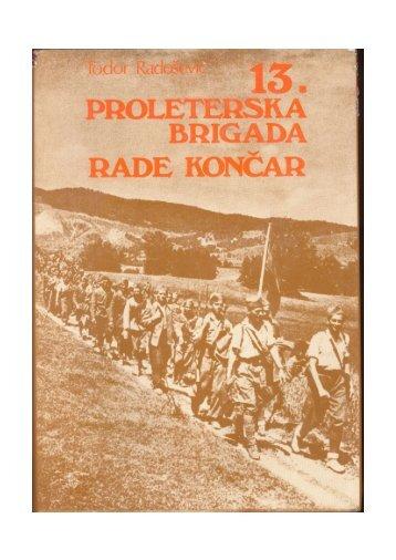 Formiranje brigade i njene prve borbe