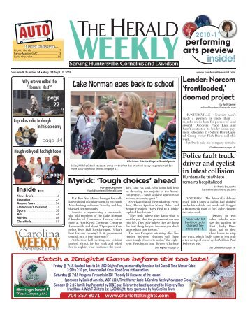 inside! - Carolina Weekly Newspapers