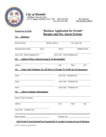 City Of Friendswood Alarm Permit Houston Alarm Monitoring