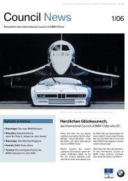 Council News - BMW Clubs