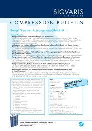 Compression Bulletin 13 - Sigvaris