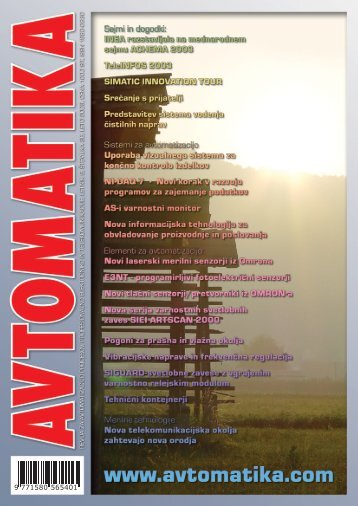 TeleINFOS 2003 - Avtomatika