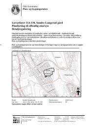 Løvsetfaret 114-118, Søndre Langerud gård Planforslag til offentlig ...