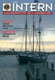 111N Intern Ausgabe November 2006 - zur Mitgliederzeitschrift ...