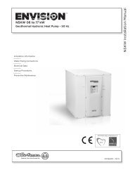 Installation Manual - WaterFurnace
