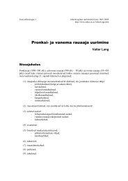 PDF tekst (246 K) - Arheoloogia Tartu Ülikoolis