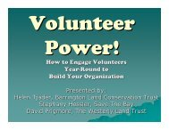 How to Engage Volunteers Year-Round to Build Your Organization