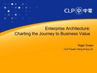 Enterprise Architecture: Charting the Journey to Business Value