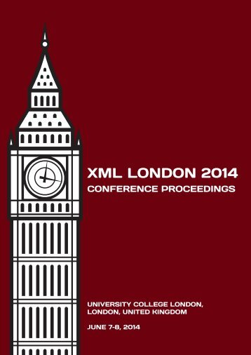 xmllondon-2014-proceedings