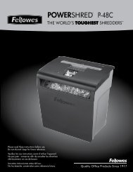 POWERSHRED® P-48C P-48C - Fellowes