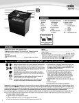 POWERSHRED® P-48C P-48C - Fellowes - Page 6