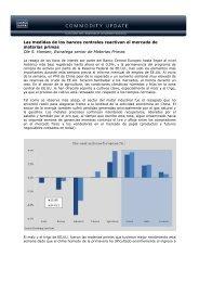 06/05/2013 Informe semanal de materias primas ... - Sala de Inversión
