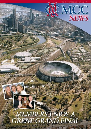 November - Melbourne Cricket Club