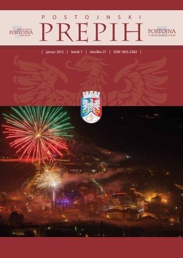 Januar 2013 - Občina Postojna