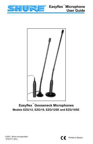Easyflex Microphone User Guide