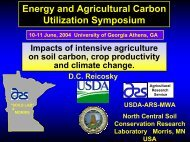 Impacts of Intensive Agriculture on Soil Carbon, Crop ... - Eprida