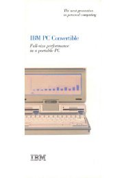 IBM PC Convertible - 1000 BiT