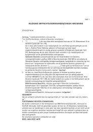 Akte wijziging erfpacht voorwaarden (PDF) - BVA Auctions
