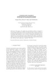 COMPLEX-STEP GRADIENT APPROXIMATION FOR ...