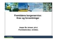Fremtidens borgerservice - Fremtidsforskeren Jesper Bo Jensen
