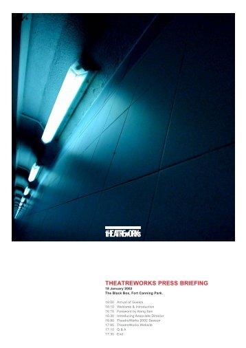 presskit - TheatreWorks