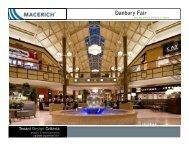 Danbury Fair Technical Criteria - Macerich