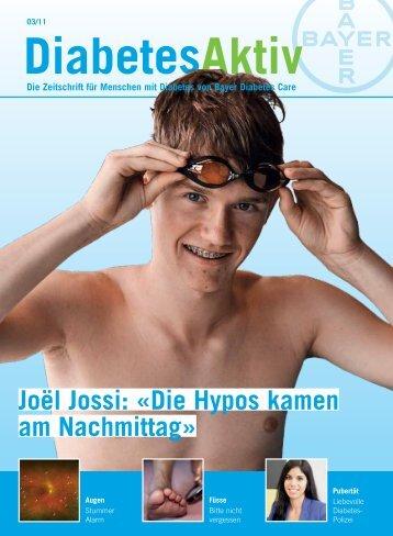 Joël Jossi - Bayer Diabetes Care Schweiz