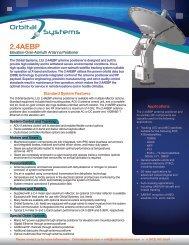 2.4AEBP Data Sheet vB.03 - Orbital Systems