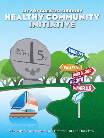 Healthy Community Initiative. - City of Greater Sudbury