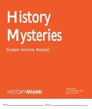 History Mysteries - HistoryMiami