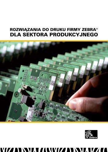 dla sektora produkcyjnego - Scansource-zebra.eu