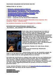 newsletter 10.07.2011 - Wolfgang Hohlbein