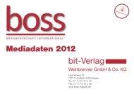 Mediadaten 2012 - Boss