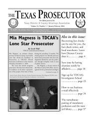 Texas District & County Attorneys Association