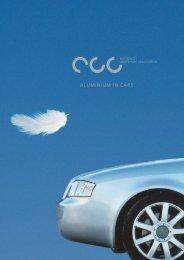 ALUMINIUM IN CARS - Materialteknologi