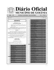 MUNICÍPIO DE GOIÂNIA - Coweb - Soluções On-line