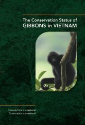 The Conservation Status of Gibbons in Vietnam - Gibbon Research ...