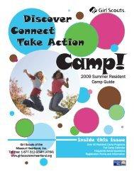 camp guide 2009.qxp - Girl Scouts of the Missouri Heartland