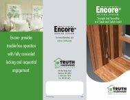Encore Multi-point Locking System - Truth Hardware
