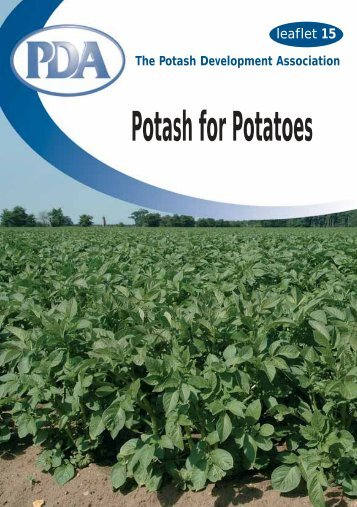 PDA Potash for Potatoes - Textbook Potato