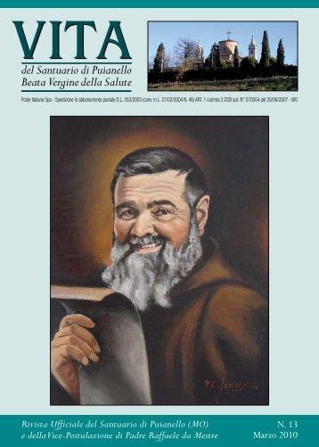 RIVISTA 13 (marzo 2010) - Santuario di Puianello