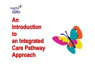 An Introduction to an Integrated Care Pathway Approach