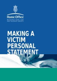 Making a victim personal statement - Avon and Somerset ...