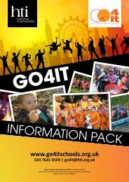 INFORMATION PACK - HTI